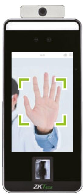 Handflächenerkennung Scanner